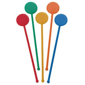 6 inch Rod Stirrer Multi Colour