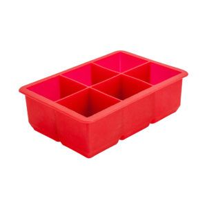 6 Cavity Red Ice Mould