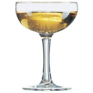 Elegance Champagne Saucer