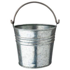Galvanised Serving Bucket